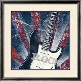 Rock Guitar Prints by Sam Appleman