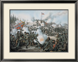 Assault on Fort Sanders Print by Kurz & Allison