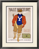 Yale Mixture Framed Giclee Print