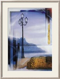 Mallorca Lamp Post Print by W. Reinshagen