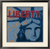 Liberty Reigns Affiches par Sam Appleman
