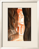 Treasury, Petra Art by Elise Ferguson
