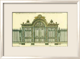 Palace Gate Prints by Jean-Francois de Neufforge