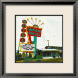 Holiday Motel: Miami Highway Poster par Ayline Olukman