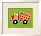 Bear in a Truck Posters by Shelly Rasche