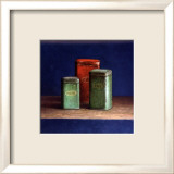 Tin Boxes I Kunstdruck von Van Riswick 