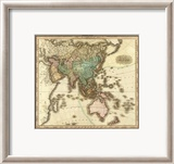Asia, c.1823 Framed Giclee Print by Henry S. Tanner