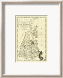 State of New Hampshire, c.1795 Gerahmter Gicl&#233;e-Druck von Mathew Carey