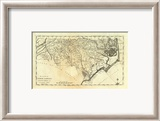 State of North Carolina, c.1795 Gerahmter Gicl&#233;e-Druck von Mathew Carey