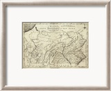 State of Pennsylvania, c.1796 Framed Giclee Print by John Reid