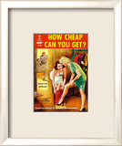How Cheap Can You Get Affiche par Ray Johnson