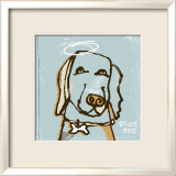 Good Dog Print by Peter Horjus