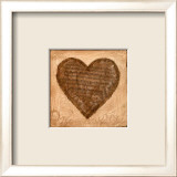 Musical Heart Print by Roberta Ricchini