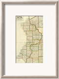 Iowa, c.1838 Framed Giclee Print by L. Judson