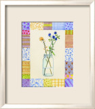 Mason Jar Patchwork II Prints by Aldana