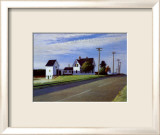 Route 6, Eastham Posters par Edward Hopper