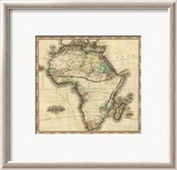 Africa, c.1823 Framed Giclee Print by Henry S. Tanner