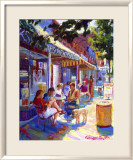 Nuffer's Colorful Cafe Prints by Curney Nuffer