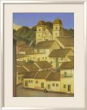 Das Dorf Poster von Fernando Botero