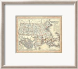 Massachusetts, Rhode Island, c.1846 Framed Giclee Print by Henry S. Tanner