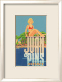 Juan Les Pins, Antibes, France Posters by A. Kow