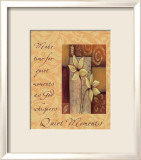 Words to Live By: Quiet Moments Prints by Marilu Windvand
