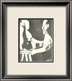 Reverdy 1967 Lmina enmarcada de edicin limitada por Pablo Picasso