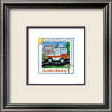 Ambulance Print by Lila Rose Kennedy