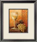 Grapes and Wine I Poster af Kristy Goggio