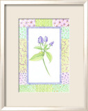 Patchwork Botanical II Posters by Aldana