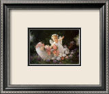 Baby Angel Poster by Joyce Birkenstock