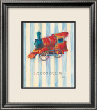 Locomotive Affiche par Catherine Richards