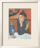 Absinthe Drinker Prints by Pablo Picasso