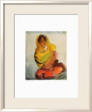 Indian Woman Prints by Loulou Albert-lazard