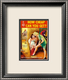 How Cheap Can You Get Affiches par Ray Johnson