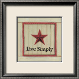 Live Simply Art by Karen Tribett