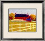The Farm Prints by Gail Wells-Hess