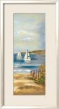 Sunny Beach Panel II Kunstdruck von Silvia Vassileva