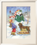 Frosty Morning Greeting Affiches par Donna Race