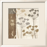 Flowers and Ferns I Prints by Klein Design