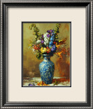 Bouquet of Annuals Art by John Traynor
