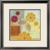 Yellow Pattern Flower Affiches par Gale Kaseguma
