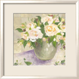 Berries and Roses II Print by Patricia Roberts
