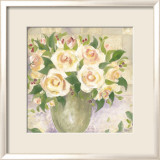 Berries and Roses I Posters by Patricia Roberts