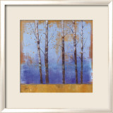 Birch Trees I Affiches van Cheryl Martin