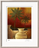 Sunset Palms II Limited Edition Framed Print by Georgia Rene