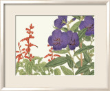 Japanese Flower Garden VI Prints by Konan Tanigami