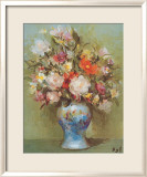 The Blue Vase Art by Marcel Dyf