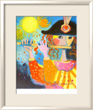 The Flute Player Prints by Rosina Wachtmeister