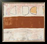White and Ochre, c.1960 Prints by William Scott